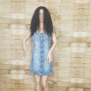 Peek a Boo Jean Dress